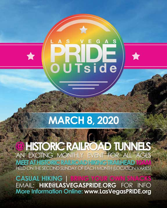 PRIDE OUTside - Hike in Las Vegas le Sun, June 14, 2020 from 10:00 am to 01:00 pm (Festival Gay, Lesbian)