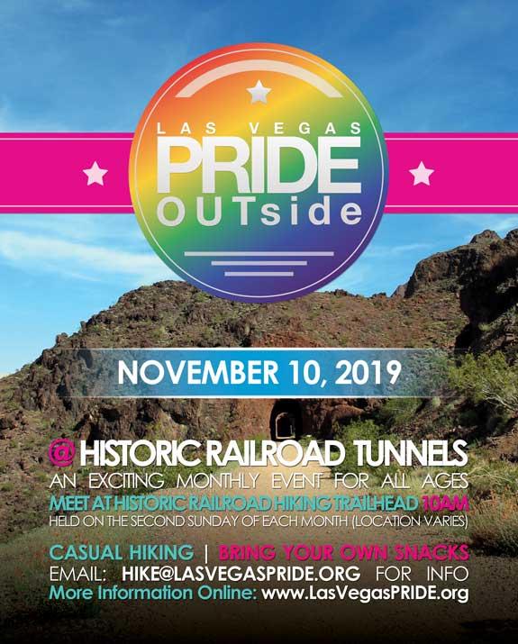 Las VegasPRIDE OUTside - Hike2020年10月 9日,10:00(男同性恋, 女同性恋 节日)