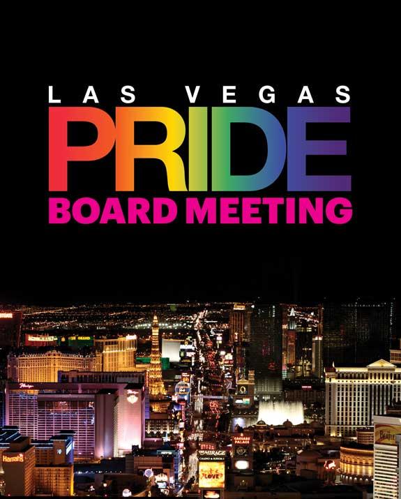 Las Vegas PRIDE Monthly Board Meeting à Las Vegas le mer. 21 août 2019 de 18h00 à 19h30 (Rencontres / Débats Gay, Lesbienne)