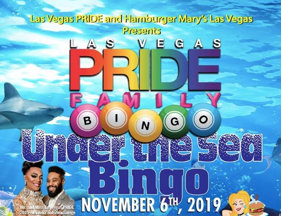 PRIDE Family BINGO in Las Vegas le Mi  4. Dezember, 2019 18.00 bis 21.30 (After-Work Gay, Lesbierin)