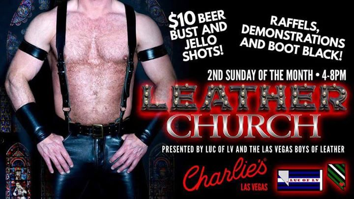 Leather Church à Las Vegas le dim. 14 juillet 2019 de 16h00 à 20h00 (After-Work Gay)