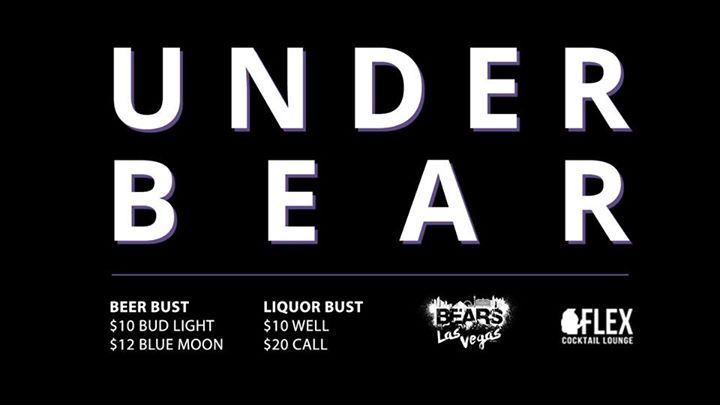 UnderBEAR at Flex Cocktail Lounge a Las Vegas le ven 27 settembre 2019 21:00-02:00 (Clubbing Gay, Orso)