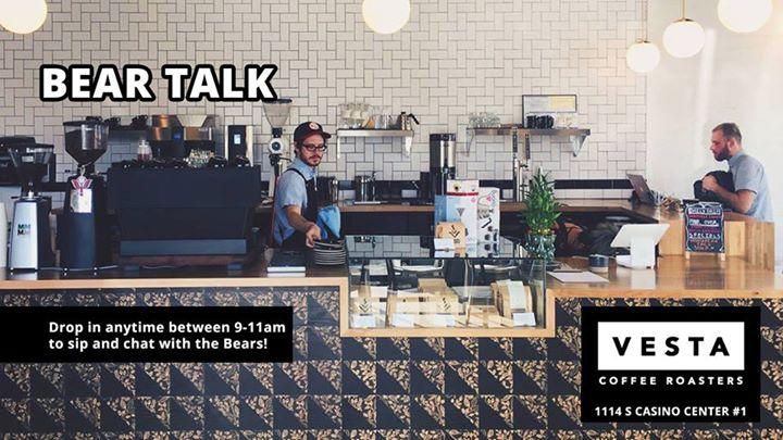 Bear Talk: Casual Chat and Coffee à Las Vegas le dim. 11 août 2019 de 09h00 à 11h00 (After-Work Gay, Bear)