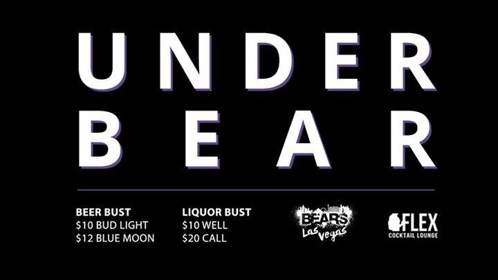 UnderBEAR at Flex Cocktail Lounge à Las Vegas le ven. 26 juillet 2019 de 21h00 à 02h00 (Clubbing Gay, Bear)