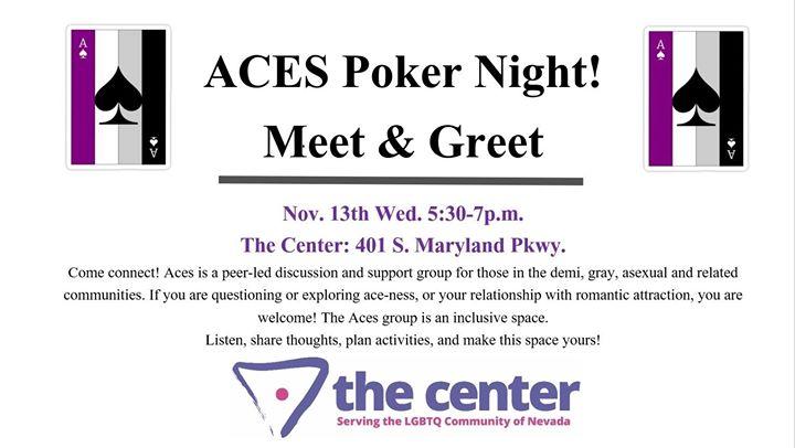 Aces! Asexual Meet & Greet en Las Vegas le mié 12 de febrero de 2020 17:30-19:00 (Reuniones / Debates Gay, Lesbiana, Trans, Bi)