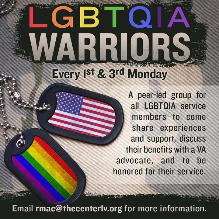 L G B T Q I A Warriors à Las Vegas le lun. 19 août 2019 de 16h00 à 19h00 (Rencontres / Débats Gay, Lesbienne, Trans, Bi)