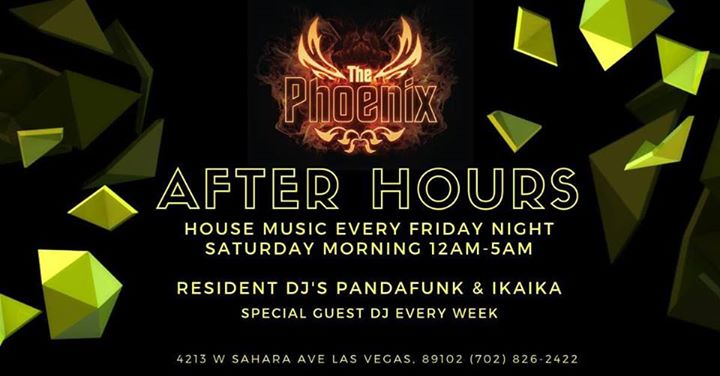 The Phoenix After Hours in Las Vegas le Fri, December  6, 2019 from 11:59 pm to 05:00 am (Clubbing Gay)
