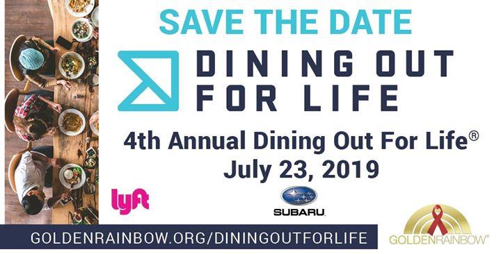 Dining Out For Life à Las Vegas le mar. 23 juillet 2019 de 06h00 à 22h00 (After-Work Gay, Lesbienne, Trans, Bi)