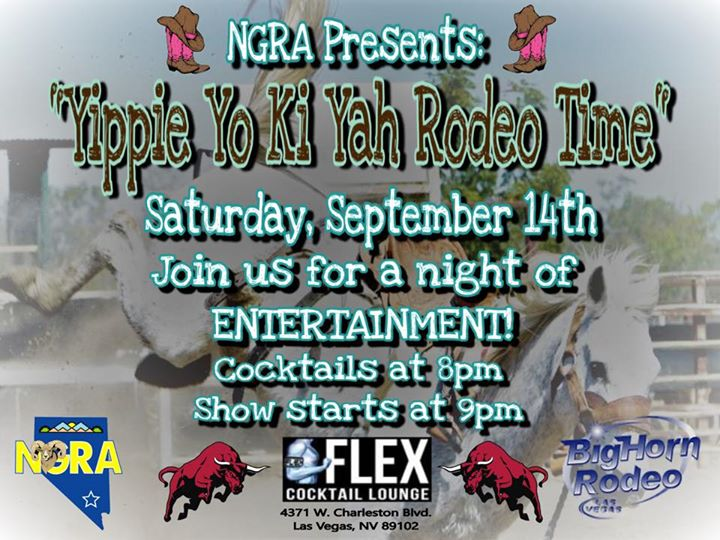 Yippie Yo Ki Yah Rodeo Time a Las Vegas le sab 14 settembre 2019 20:00-23:00 (After-work Gay)