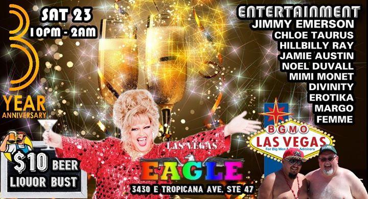 BGMO Las Vegas 3 Year Birthday Celebration! à Las Vegas le sam. 23 novembre 2019 de 22h00 à 02h00 (Clubbing Gay)
