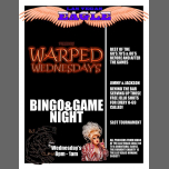 Warped Wednesday's Bingo & Game Night à Las Vegas le mer.  5 juin 2019 de 20h00 à 23h00 (Clubbing Gay)