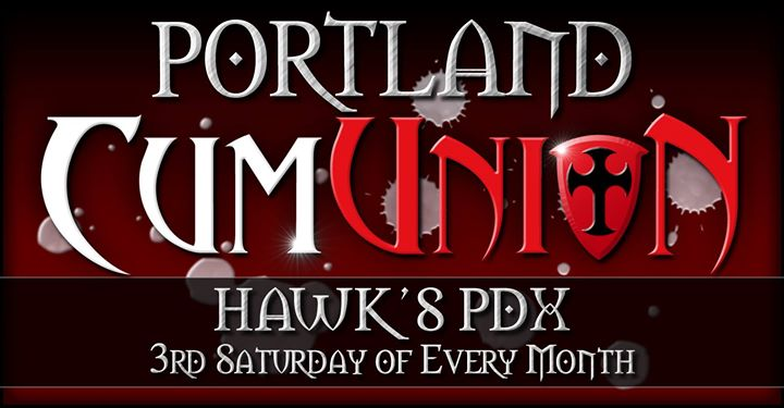 PortlandCumUnion at Hawk's PDX2019年10月21日,22:00(男同性恋 性别)