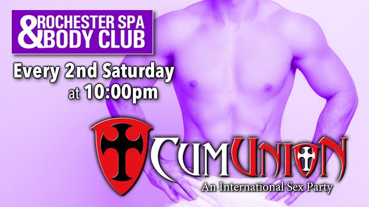 CumUnion at Rochester Spa in Rochester le Sat, October 12, 2019 from 10:00 pm to 04:00 am (Sex Gay)