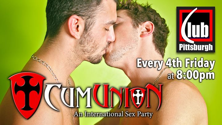 PittsburghCumUnion Pittsburgh at Club Pittsburgh2019年 8月26日,20:00(男同性恋 性别)