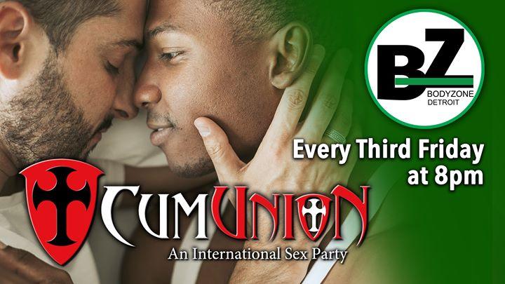 CumUnion at Body Zone Detroit en Detroit le vie 19 de julio de 2019 20:00-04:00 (Sexo Gay)