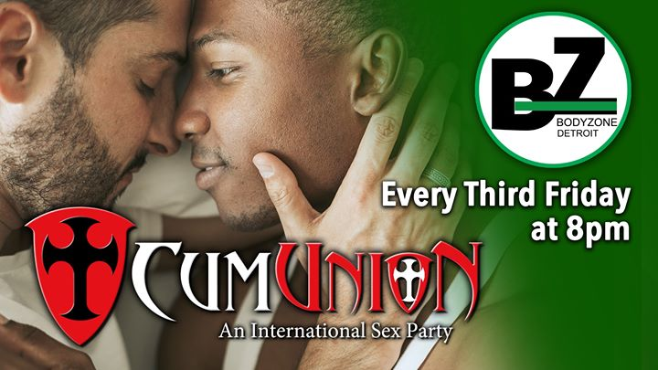 CumUnion at Body Zone Detroit in Detroit le Fr 19. Juli, 2019 20.00 bis 04.00 (Sexe Gay)