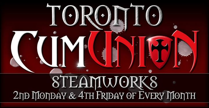 CumUnion Toronto at Steamworks in Toronto le Mo 12. August, 2019 20.00 bis 00.00 (Sexe Gay)