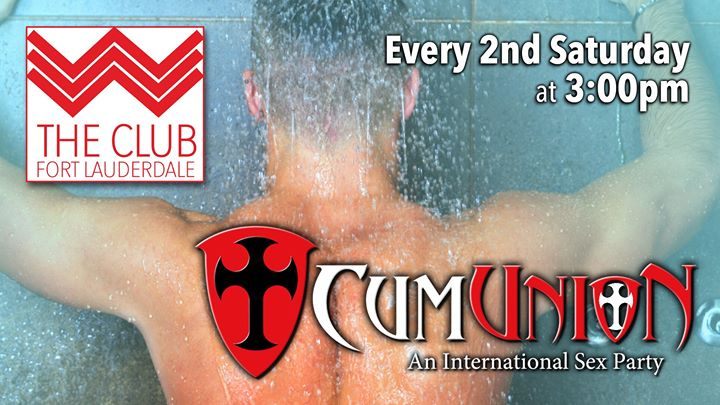 CumUnion at Club Ft. Lauderdale in Fort Lauderdale le Sa 10. August, 2019 15.00 bis 19.00 (Sexe Gay)