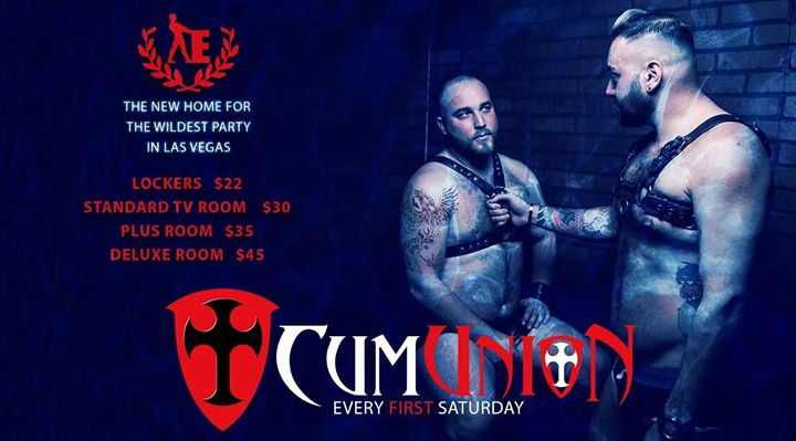 CumUnion at Entourage Spa in Las Vegas le Sa  7. Dezember, 2019 20.00 bis 04.00 (Sexe Gay)