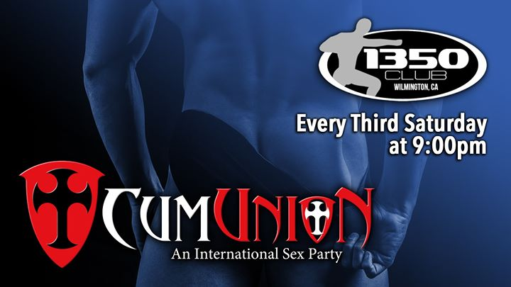 CumUnion at 1350 Club à Los Angeles le sam. 17 août 2019 de 21h00 à 04h00 (Sexe Gay)