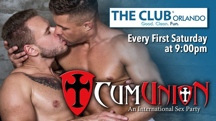 CumUnion at Club Orlando in Orlando le Sa  3. August, 2019 21.00 bis 03.00 (Sexe Gay)