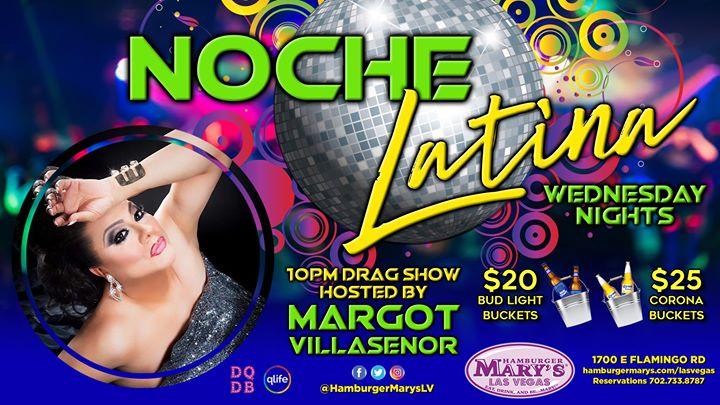 Las VegasNoche Latina2019年10月23日,22:00(男同性恋 下班后的活动)