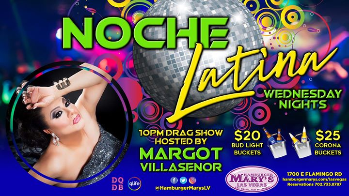 Noche Latina em Las Vegas le qua, 20 novembro 2019 22:00-23:30 (After-Work Gay)