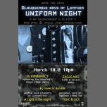 Uniform Night à Albuquerque le sam. 10 mars 2018 de 22h00 à 01h00 (Clubbing Gay)