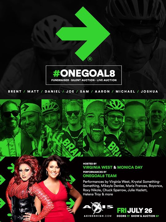 Pelotonia #OneGoal8 - High Hair & High Heels Fundraiser in Columbus le Fr 26. Juli, 2019 19.00 bis 22.00 (After-Work Gay)