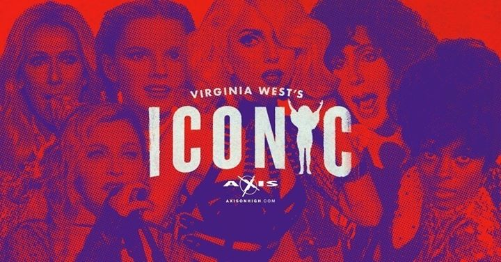 Virginia West Presents Iconic à Columbus le dim. 25 août 2019 de 17h00 à 20h00 (After-Work Gay)