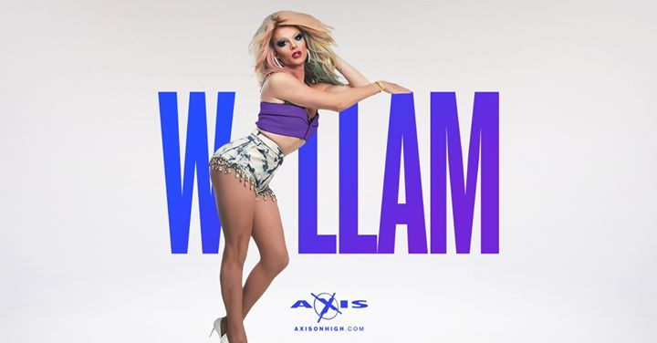 Axis Presents Willam in Columbus le Sa 20. Juli, 2019 21.00 bis 02.30 (After-Work Gay)