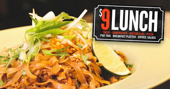 $9 Lunch Special in Columbus le Mon, July 15, 2019 from 11:00 am to 02:00 pm (After-Work Gay)