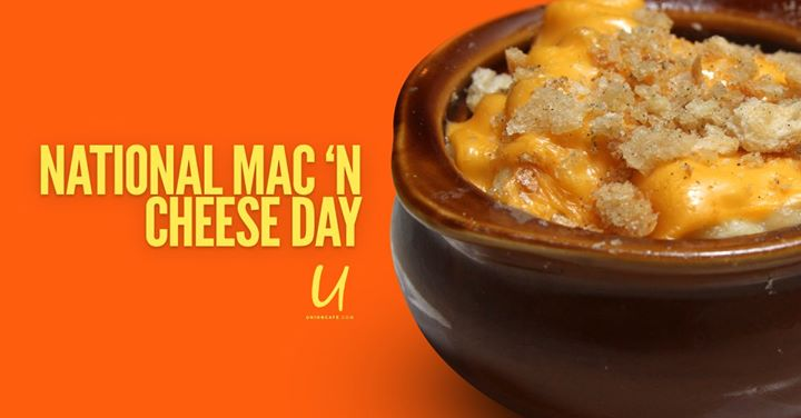 National Mac 'N Cheese Day in Columbus le Sun, July 14, 2019 from 11:00 am to 11:00 pm (After-Work Gay)