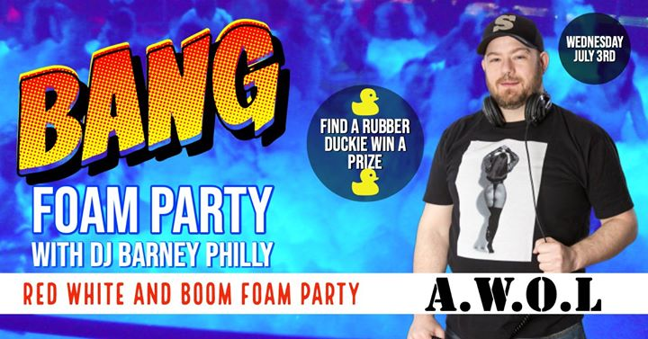 Bang! Foam Party à Columbus le mer.  3 juillet 2019 à 21h00 (Clubbing Gay)