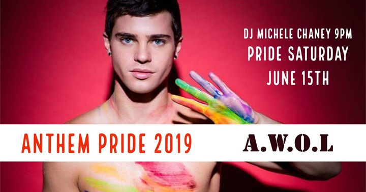 Anthem Pride at AWOL à Columbus le sam. 15 juin 2019 de 21h00 à 03h00 (Clubbing Gay)