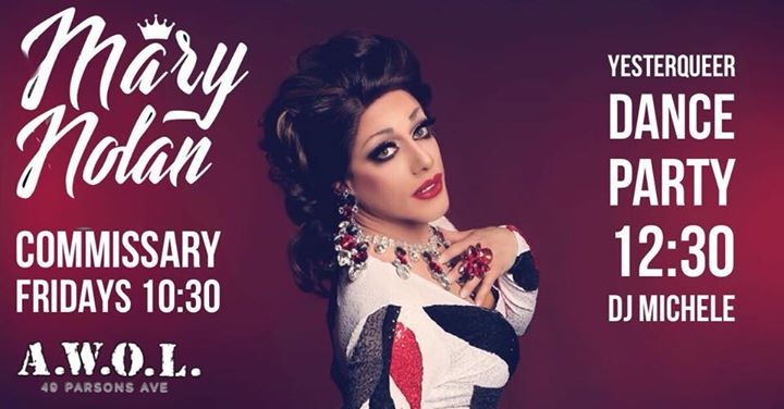 Mary Nolan's Commissary in Columbus le Fri, August 30, 2019 from 10:00 pm to 02:00 am (Clubbing Gay)