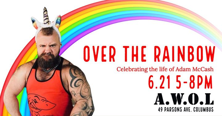 Over the Rainbow: Celebrating Adam in Columbus le Fri, June 21, 2019 from 05:00 pm to 08:00 pm (After-Work Gay)