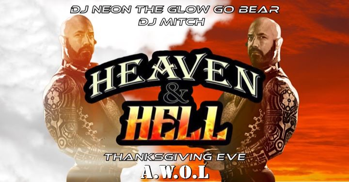Heaven and Hell XXV à Columbus le mer. 27 novembre 2019 de 21h00 à 03h00 (Clubbing Gay)