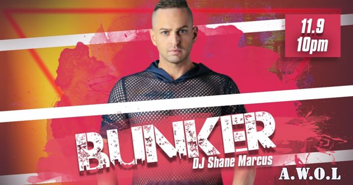 Bunker: with DJ Shane Marcus in Columbus le Sat, November  9, 2019 from 10:00 pm to 03:00 am (Clubbing Gay)