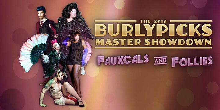 Fauxcals and Follies: A 2019 Burlypicks Master Showdown in Columbus le Do  3. Oktober, 2019 20.00 bis 00.00 (After-Work Gay)