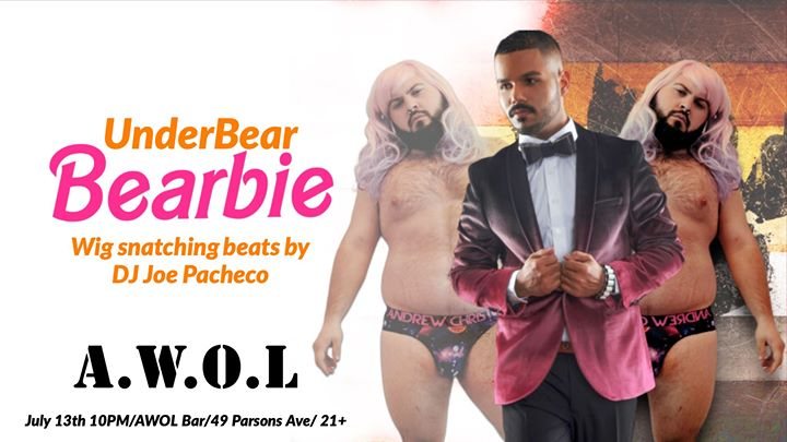 UnderBear Bearbie edition in Columbus le Sat, July 13, 2019 from 10:00 pm to 03:00 am (Clubbing Gay)