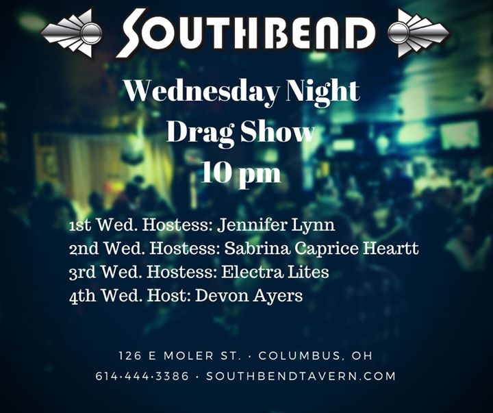 Wednesday Night Drag Show in Columbus le Wed, January  8, 2020 from 10:00 pm to 02:00 am (Clubbing Gay)