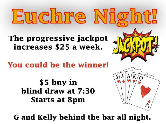 Euchre Night! en Columbus le jue 14 de noviembre de 2019 19:30-23:00 (After-Work Gay)