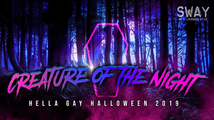 Creature of the Night a Little Rock le sab 26 ottobre 2019 23:00-02:00 (Clubbing Gay friendly)