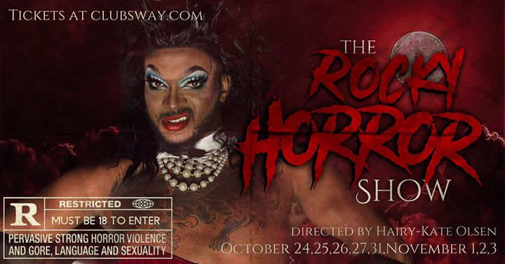 The Rocky Horror Show LIVE! a Little Rock le gio 24 ottobre 2019 19:00-23:00 (After-work Gay friendly)