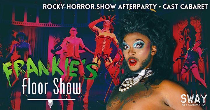 Frankie's Floor Show en Little Rock le vie 25 de octubre de 2019 23:00-02:00 (Clubbing Gay Friendly)