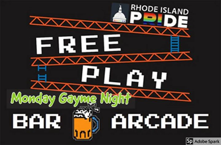FreePlay Gayme Night for RI Pride in Providence le Mon, April  6, 2020 from 07:00 pm to 12:00 pm (After-Work Gay, Lesbian)