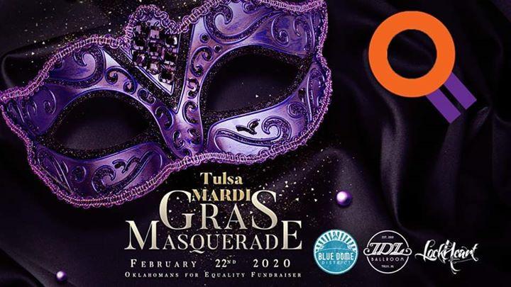Tulsa Mardi Gras Masquerade 2020 en Tulsa le sáb 22 de febrero de 2020 19:00-02:00 (Clubbing Gay, Lesbiana, Trans, Bi)