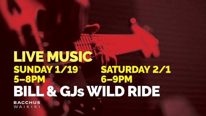 Bill & GJs Wild Ride a Honolulu le sab  1 febbraio 2020 18:00-21:00 (After-work Gay)