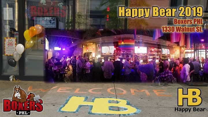 Happy Bear: 2019 Weekly a Philadelphie le ven 23 agosto 2019 18:00-22:00 (After-work Gay)